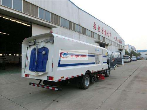Qingling Isuzu 8 Party Washing and Sweeping Truck Picture