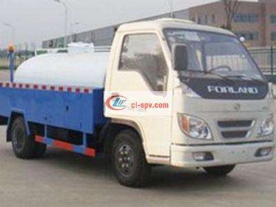 福田轻型4吨高压清洗车图片