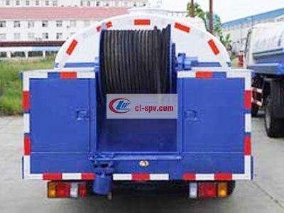 庆铃 Isuzu 5吨清洗车图片
