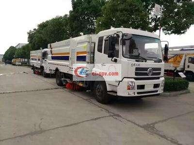 东风天锦国五16方洗扫车图片