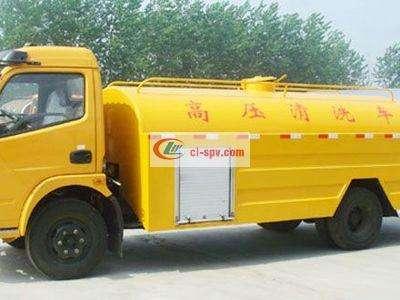 东风多利卡8吨高压清洗车图片