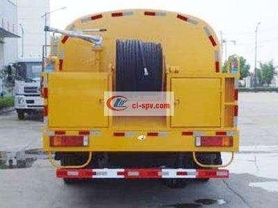 东风单桥10吨高压清洗车图片