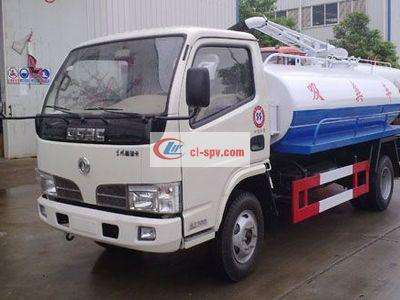 Dongfeng light 3 tons fecal suction truck