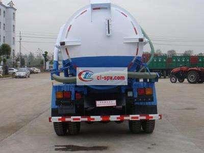 153老款12吨清洗吸污车(两用)图片