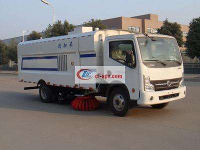 东风凯普特8方洗扫车图片