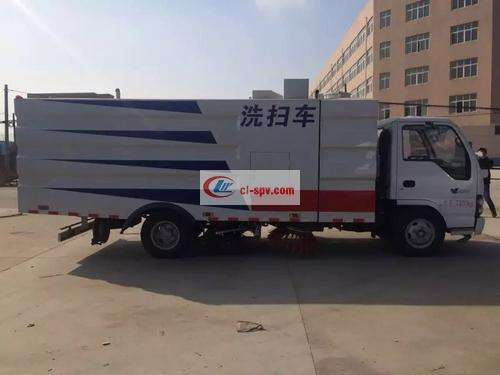 Isuzu 8 party car wash and sweeper pictures