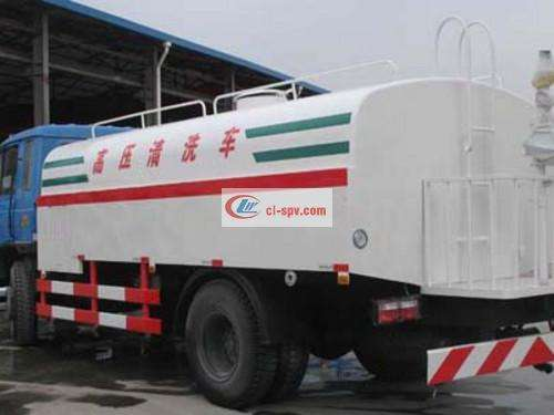 Dongfeng 15 tons high pressure cleaning truck pictures