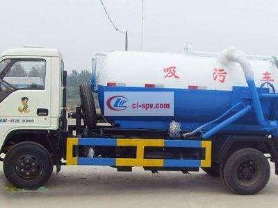 福田轻型6吨吸污车图片