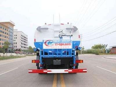 国五东风天龙后双桥18吨洒水车图片