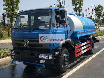东风14510吨洒水车图片