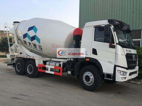 XCMG 14 square cement mixer truck picture