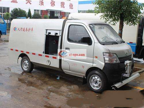 Changan 2 tons road cleaning truck pictures