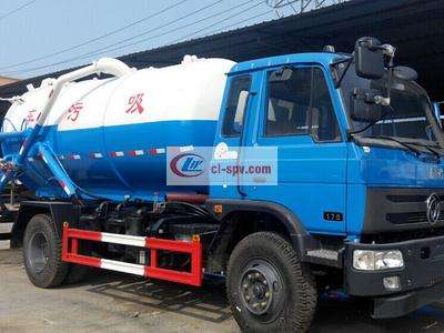 10 tons sewage suction truck