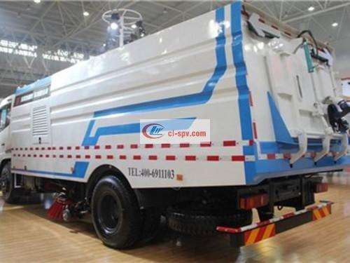 Dongfeng Tianjin 16 party washing and sweeping truck pictures