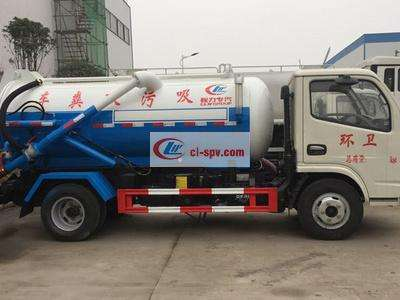 东风福瑞卡4吨吸污车图片