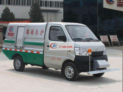 Chengli Changan 2 ton pavement cleaning truck picture