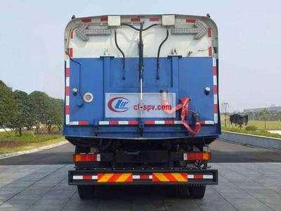 东风天龙后八轮22方大型洗扫车图片
