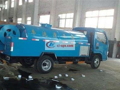 东风多利卡6吨高压清洗车图片