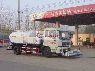 东风天锦9吨路面清洗车图片