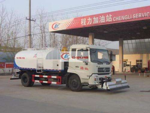 Dongfeng Tianjin 9 ton pavement cleaning truck pictures