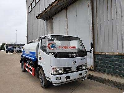 东风D6系列价格最低的5吨洒水车图片