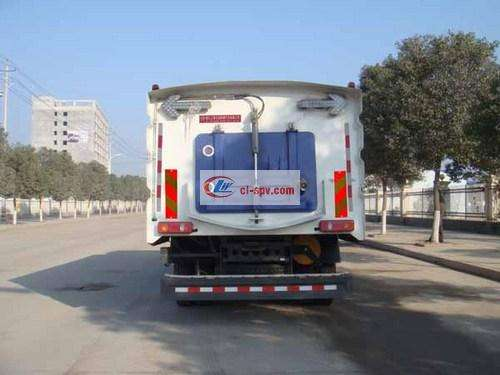National Five Dongfeng Tianjin 16 Square Washing Sweeping Truck Picture