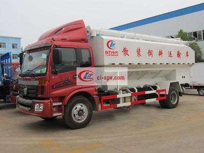 福田10吨散装饲料车图片