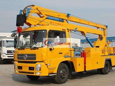 东风24米高空作业车图片