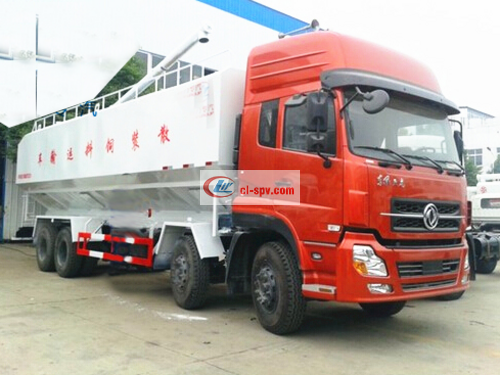 Dongfeng Tianlong Bulk Feed Transport Truck Picture