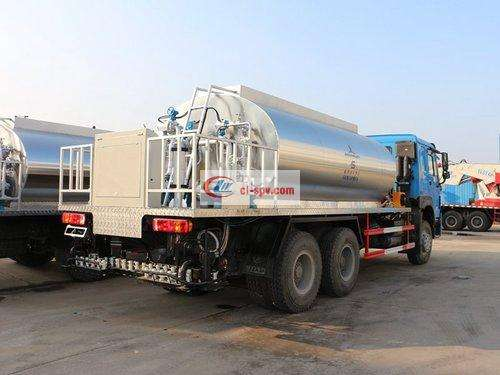 Heavy Duty Truck 16 Tons Asphalt Distributor Picture