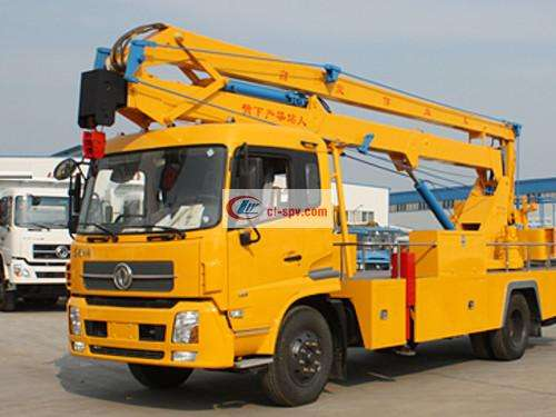 Dongfeng 24m Aerial Operating Truck Picture