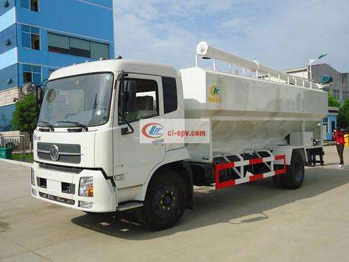 Dongfeng Tianjin Bulk Feed Transport Truck Picture