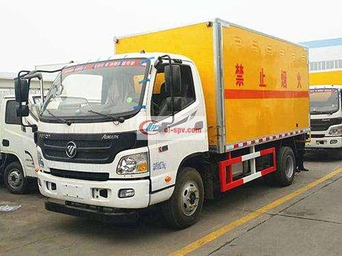 Foton Omak Blasting Equipment Transporter Picture