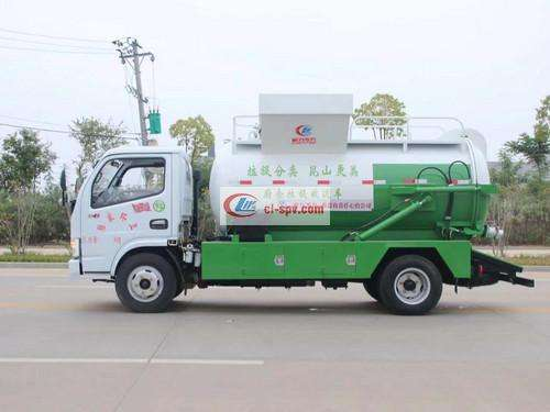 Dongfeng Small Dolica 5 Party Kitchen Garbage Truck Picture