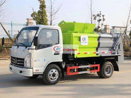 Kama Blue 3 Party Kitchen Garbage Truck Picture