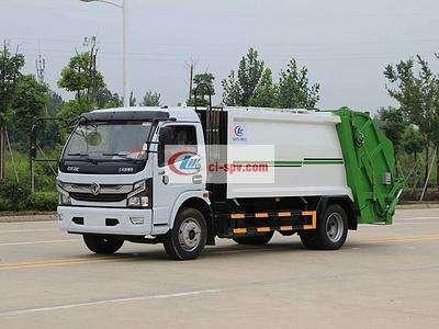 国六东风多利卡6方压缩垃圾车图片