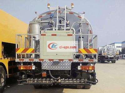 Dongfeng 12方公路养护沥青撒布车(智能型)图片