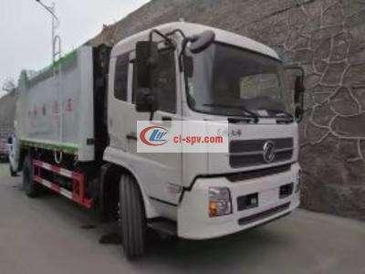 东风天锦后装14吨压缩垃圾车图片