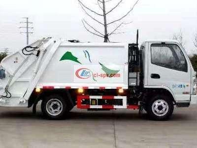 国六凯马4方 small 压缩垃圾车图片