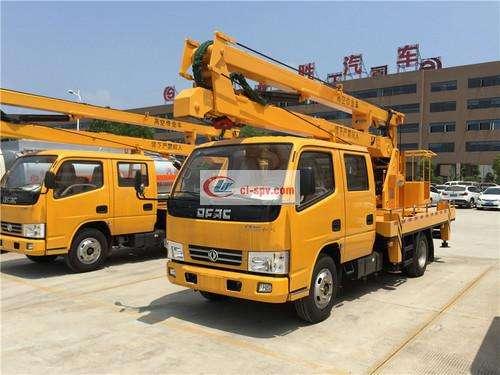 Изображение 16-метрового операционного грузовика Dongfeng