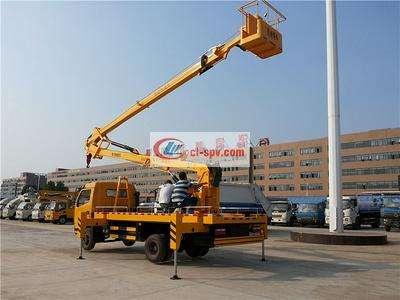 东风18米高空作业车图片