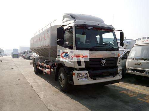 Foton feed truck pictures