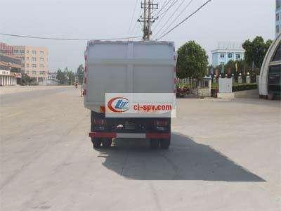东风压缩式对接垃圾车图片