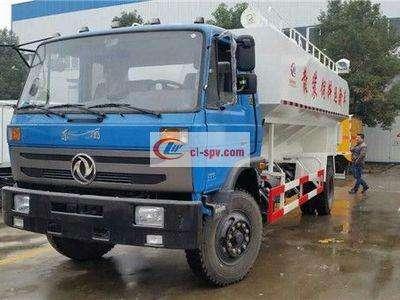 东风153散装饲料运输车图片