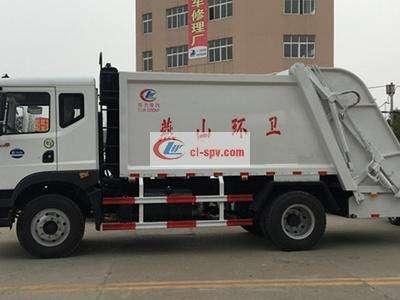 东风D9压缩式垃圾车图片