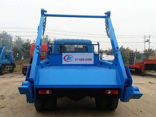Dongfeng 145 10 square swing arm garbage truck pictures