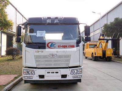 解放J6平板 one tow two wrecker 图片
