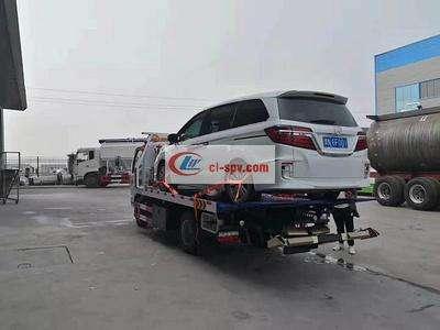 国六东风小多利卡 small 清障拖车厂家最新款图片图片