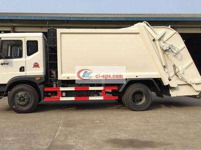 东风145(国五)压缩式垃圾车图片