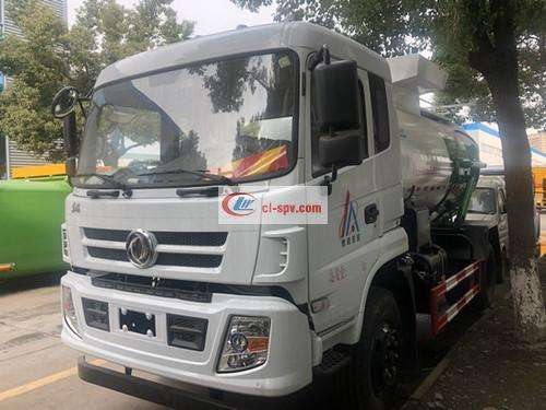 Dongfeng Special Commercial 12 party kitchen garbage truck picture